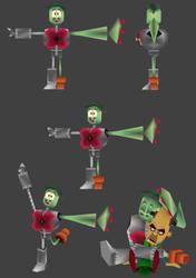 3D Plant Billy by BillyBuckaroo