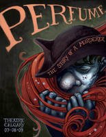 'Perfume' Theatre Poster by Biffno
