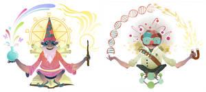 Science Wizard by Biffno