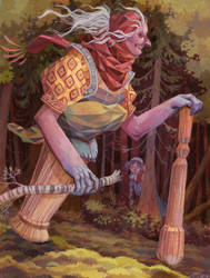 The Baba Yaga by Biffno
