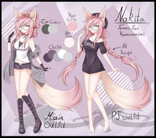 Nakita Reference Sheet by WhiterStar