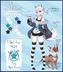 Star Reference Sheet by WhiterStar