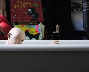 Drowning puppets by YablokoMaloko