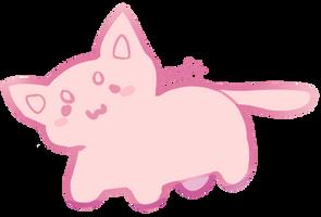 F2U BASE - lil chubbi cat by soft-toy