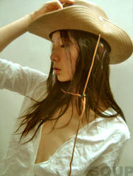 Cow Girl.. by soupsoup
