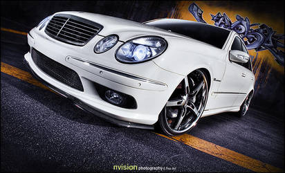 Mercedes-Benz E55 AMG - II by nvisionphotography