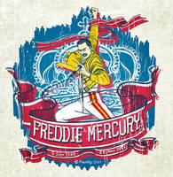 Freddie Mercury by Franky-p