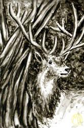 Animals: Reinder by Naikiria