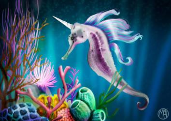 Sea Unicorn by Naikiria