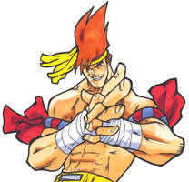 Street Fighter Alpha:Adon by GrannyandStu