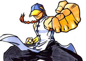 Street Fighter Alpha:Yun by GrannyandStu