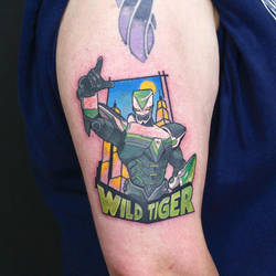 Wild Tiger Tattoo by GrannyandStu
