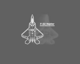 F-22 Raptor by IvanMRM