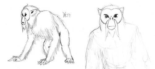 Yeti by Lunarsmith