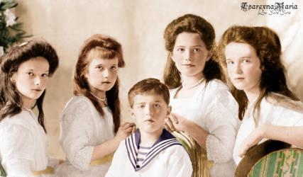 Five Angelic Cherubs by TsarevnaMaria