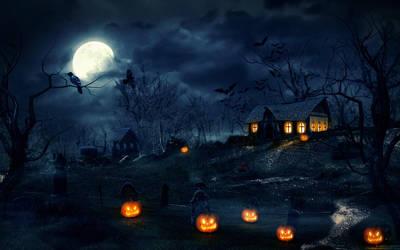 Hallowed Night by ATKNebula