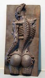 Biomechanoid sculpture by biomechanoid56