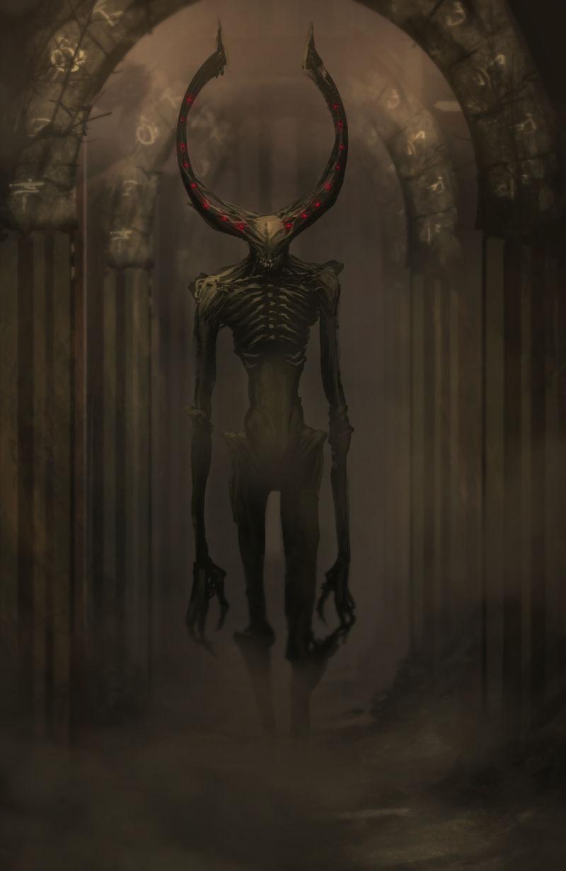 Abyssal Wendigo by legendary-memory