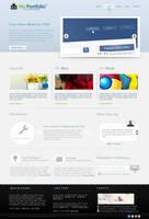 MyPortfolio Interface by y4cine