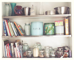 Kitchen Shelf by reixii