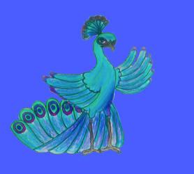Peacock OC: Shan Nan by puffugu