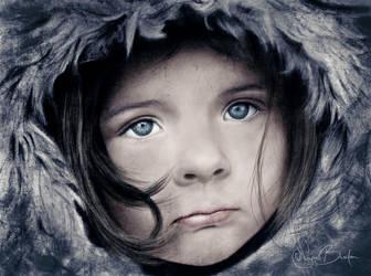 Winter portrait by Elvazur