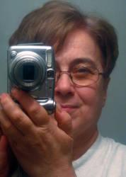 Self Portrait Snapshot by MarjorieB