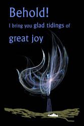 Glad Tidings of Great Joy by MarjorieB