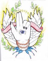 Xiaolin Hand Tattoo by UNDER-82