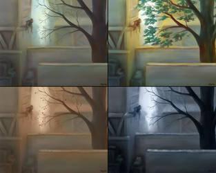 Seasons by Wolchenka