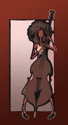 Esperanza Spalding - in color by bms-DA