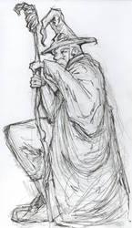 Wizard sketch by bms-DA