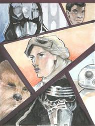 Star Wars - The Force Awakens card by bms-DA