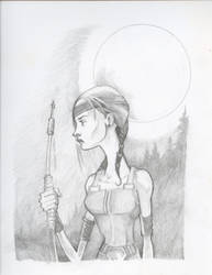 The Huntress by bms-DA