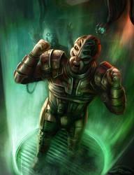 Andromeda: Sh'sk (Mass Effect) by Jorsch