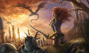 The Fall of Silvermoon by Jorsch