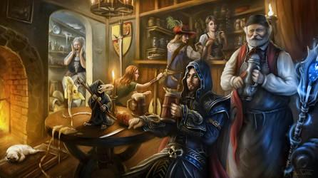 Tavern Troubles by Jorsch