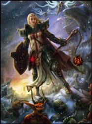 Diablo 3 - The Crusader by Jorsch