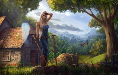 Storm Silverhand by Jorsch