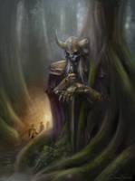 Forsaken God by Jorsch