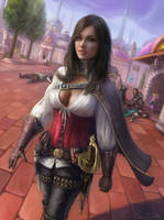 Ienera in Dalaran by Jorsch