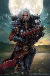 WH 40k - Sister of Battle by Jorsch