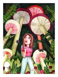 Mushroom Land by marcelalois