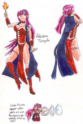 manga concept 3, Adesina by shamoncornell