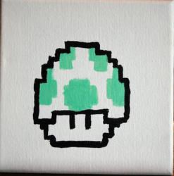 Super Mario 1UP by Janorien