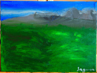Scenery in Green by Janorien