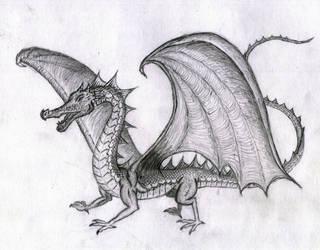 Dragon III by Janorien