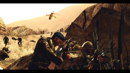 Soviet war in Afghanistan by Bliblix