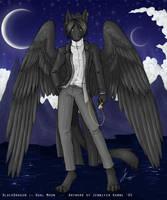 BlackDragon :: Dual Moon by OnyxSerpent