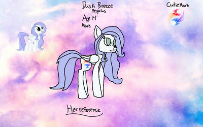 Dusk Breeze reference by GreenfeatherRants